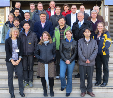 Participants at the IOCCG-20 Committee meeting, CNES HQ, Paris