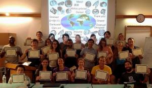 SLS-2016 students