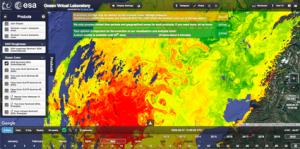 Ocean Virtual Laboratory website