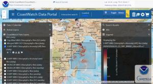 NOAA CoastWatch Data Portal